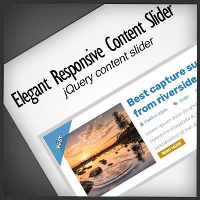 Elegant Responsive Content Slider   jQuery Slider