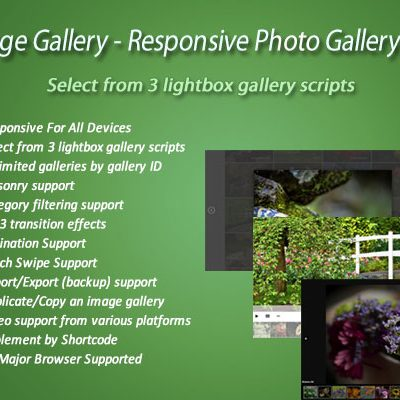 Awesome Responsive Photo Gallery Pro